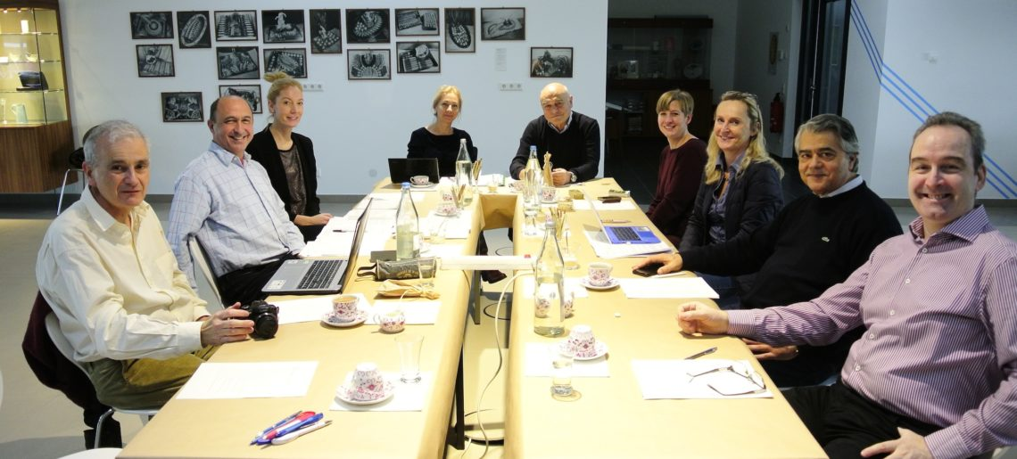 Board meeting in Frankfurt in January 2017