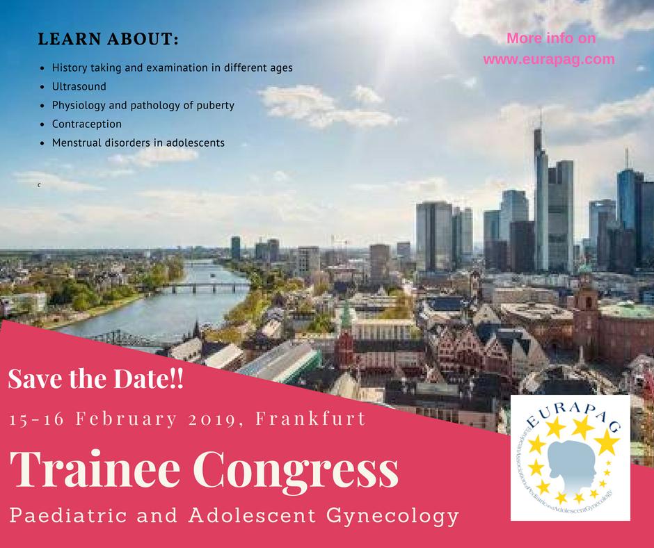 EURAPAG Trainee Congress Frankfurt 2019 – EURAPAG