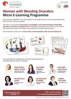 Women with Bleeding Disorders | Micro E-Learning