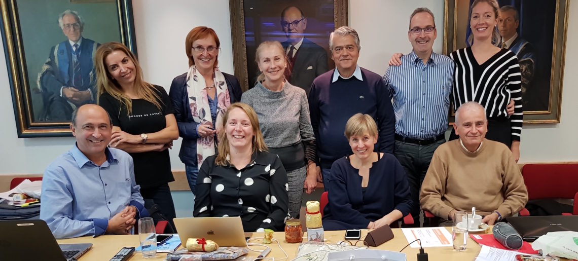 Board meeting in London